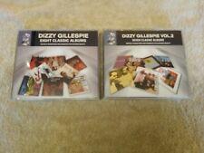 DIZZY GILLESPIE : Eight Classic Albums (4CD) + Vol 2 Seven Classic Albums (4CD)