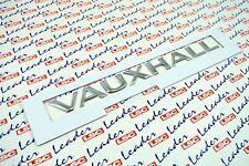GENUINE VauxhallVIVARO / MOVANO - 'VAUXHALL' BADGE / NAMEPLATE / NEW - 91167832