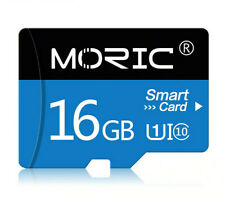 Micro SD Class 10 SDHC TF High Speed 16gb Memory Card   (Free SD Adapter)