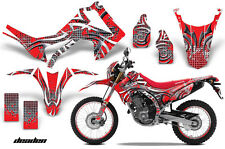 AMR Racing Honda CRF 250L Graphic Decal Number Plate Kit Sticker Part 13-15 DEDN