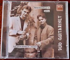 KRZYSZTOF PELECH JAN BOKUN DUO GUITAR CLARINET CD DUX (1999) SEALED POLAND