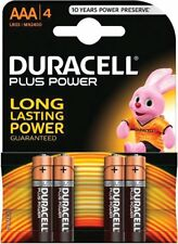 Duracell LR03 Pilas AAA Más Potencia Pack de 4