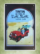 Us Seller- Tintin au Pays De Lok Noik metal sign outdoor wall art