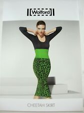 WOLFORD CHEETAH SKIRT 58170 Damen Rock Kleid Skirt Gr.XS NEU mit ETIKETT OVP