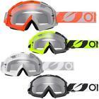 O'Neal Crossbrille B-10 Twoface Klar Motocross Helm Brille MX MTB FR Downhill