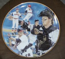 1992 GARTLAN USA CARLTON FISK RED WHITE SOX AUTOGRAPHED PLATE AUTO SIGNED /950
