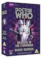 Doctor Who: Revenge of the Cybermen / Silver Nemesis [DVD] [1975], DVDs