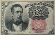 GREAT 1874 10 CENTS FRACTIONAL CURRENCY BILL