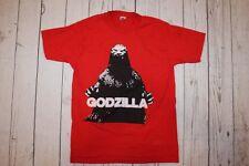 Vintage Godzilla Raised Print Movie Horror SiFi T-shirt tee