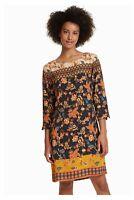 Vestido de inspiración indonesia PAULA de Desigual. Ref: 18WWVW30