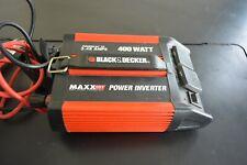 New listing Black & Decker Maxxsst Power Inverter 400 Watt 3.48 Amps