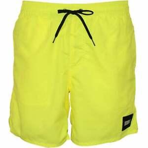O'Neill Vert Solid Colour Men's Swim Shorts, Pyranine Yellow
