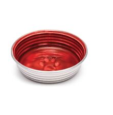 Le Bol Pet Bowls for Dogs Red Stainless steel Small