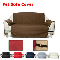 Long Waterproof Sofa Cover Couch Loveseat Slipcover Furniture Protector Pet Mat