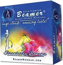StrawBerry Banana Beamer Molasses 50g Hookah Shisha Nargila Tobacco Free