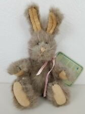 Boyds' Bears Archive Collection 1990 Jointed Poseable Bunny Rabbit Plush 7""