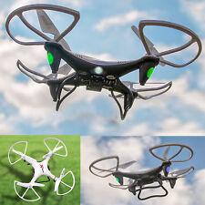 2-4GHZ-4-Kanal-RC-Drohne-Quadrocopter 360 Grad Loopings HD-Video-Foto-Kamera NEU