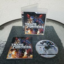 Transformers: Revenge of the Fallen For PS3 Sony PlayStation 3 Video Game 2009