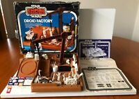Rare Vintage Kenner Star Wars Boxed 1979 Droid Factory + Blueprints Factory List