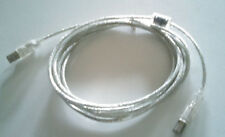 10ft Clear USB 2.0 with Ferrite