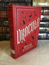 DRACULA by BRAM STOKER Leatherbound Soft Cover Collectible Edition BRAND NEW