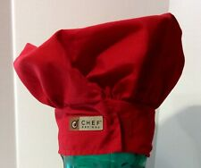 Chef Designs Red Chef's Hat - Adjustable Fit - by: Red Kap De Mexico