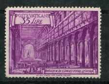 More details for vatican 1949 st pauls 35l mint hinged