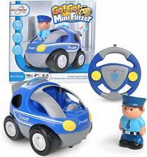 FunTomia RC Polizeiauto 1- für Kleinkinder - abschaltbare Sound- und Musikeff...