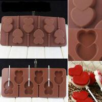 DIY Lutscher-Kuchen-Form-flexible Silikonform für Süßigkeits-Schokolade mit Supe
