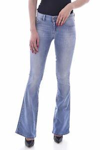 DIESEL Women`s Jeans Size 27 LIVIER-FLARE Super Slim Flared Low Waist W27 L34