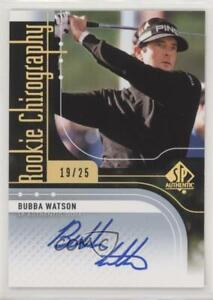 2012 SP Authentic Chirography /25 Bubba Watson #RC-BW Rookie Auto