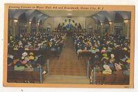 Evening Concert, Music Hall, Boardwalk ATLANTIC CITY NJ, New Jersey Postcard