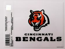New Window Static Cling Cincinnati Bengals NFL Football Licensed Fan League