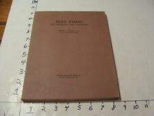 vintage book-BRIEF MAKING and Appellate court procedure Arthur v. Getchell suffo
