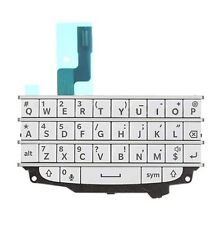 Kit Completo Blackberry Q10 Blanco Teclado De Membrana Teclado Botones Flex