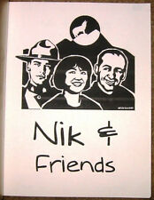 "Due South Babylon 5 Fanzine ""Nik and Friends"" GEN Forever Knight"
