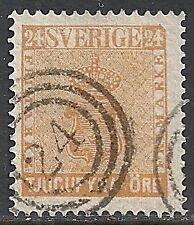 Sweden stamps 1858 YV 9 Danish Numbercancel  VF