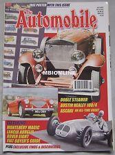 The Automobile magazine 07/2000 featuring Austin Healey, Lancia, Doble, Fiat