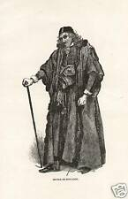 Shakespeare Merchant Of Venice Shylock 1892 Antiq Print