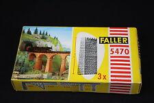 W053 FALLER Train Maquette Ho 5470 3 pile de pont Brücken Pfeiler Bausatz 12 cm