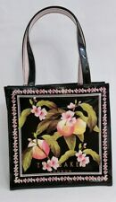 f4ad58810ec8 Ted Baker Peach Blossom Black Small Icon Bag New with Tag