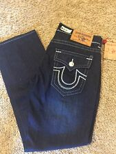 Men's NEW TRUE RELIGION 38 Joey Super T Big Stitch Jeans Retail $345