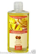 54667 massaggio corpo bagno d'olio la cura della pelle ROSE ilang-ilang & Peach OLIO succo fresco