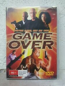 Game Over DVD 2005 Action Fighting Crime Movie Martial Arts - Andre McCoy