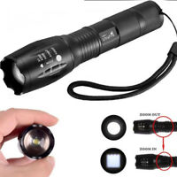 Ultrafire 50000LM T6 Zoomable Tactical LED 18650 Flashlight Torch Lamp Light