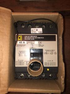 Square D FAL340451021 - 45 Amp 3 Pole 480 V -Circuit Breaker NEW IN BOX