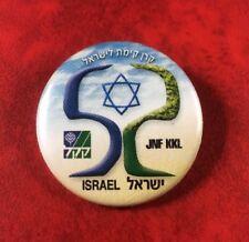 ISRAËL PIN BUTTON BADGE KKL JNF. OFFICIAL.