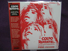 PIERO PICCIONI - Colpo Rovente: Colonna Sonora Original Del Film MINI LP CD NEW