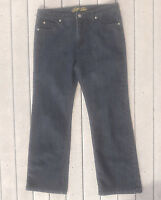Bill Blass Jeans Women's Stretch Bootcut Dark Wash Size 10