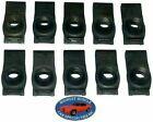 Nosr Ford Mercury Body Fender Frame Grille 516-18 Bolt U Clip Panel J Nut 10p F